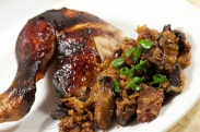 Roast Chicken with Glutinous Rice Stuffing