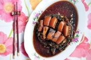 Mei Cai Kou Rou 梅菜扣肉 (Steamed Pork Belly with Mustard Greens)