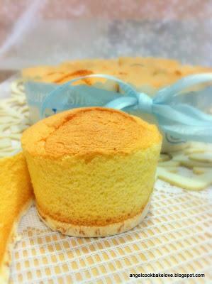 Sponge Cake Cups sponge cakes foodeliciousheaven