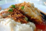 Yam Cake Recipe (Or Kuih)