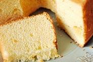 Vanilla Cotton Chiffon Cake