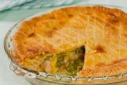 Chicken, Leek & Pea Pie