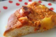 Pizza Dough #2 ~ Soft & Fluffy Pizza Dough Using 100% Plain Flour 松软皮萨饼皮(100%普通面粉)